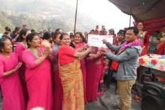 Providing-Prizes-and-Certificates-to-Women-Group-by-Dupcheshwor-RMs-Chaiperson-Medium