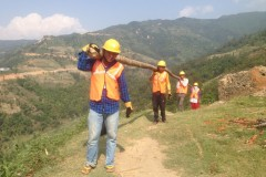 Staff-Engagement-To-Built-Temporary-Shelter-at-Chhap-Nuwakot-Medium