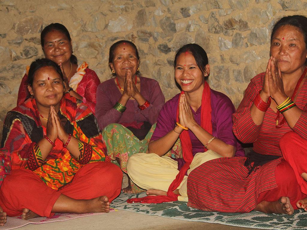 Women Group Meeting at Kogate, Makawanpur (1)