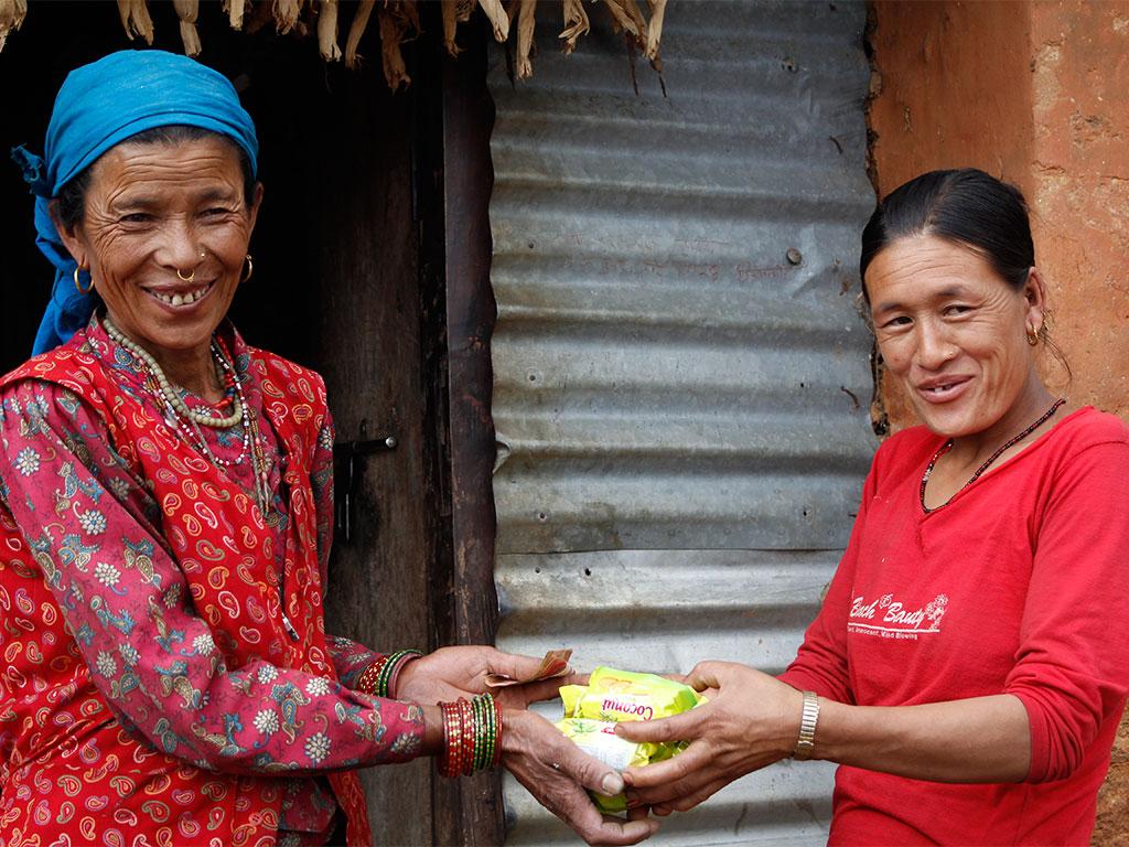 Marsani Tamang-Member, Dhandakharka Women Group, Samundratar (2)