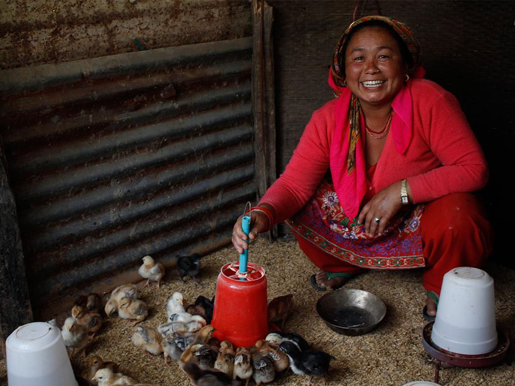 Thuli Tamang-Member,Ramati Women Group, Samundratar