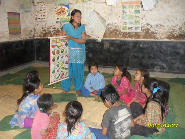 Training to Child Group Member at Bhotechaur, Sindhupalchok