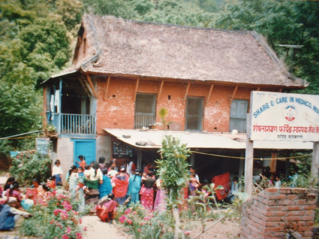 First Project Office of Share and Care At Pharping, Kathmandu