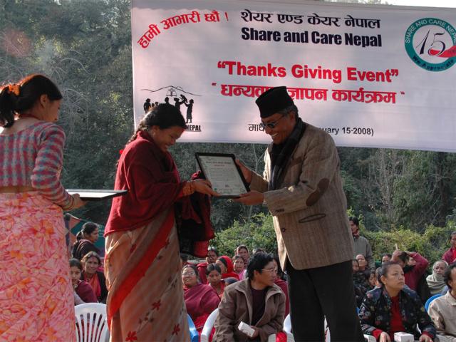 First Thanks Giving Event at Pharping Kathmandu