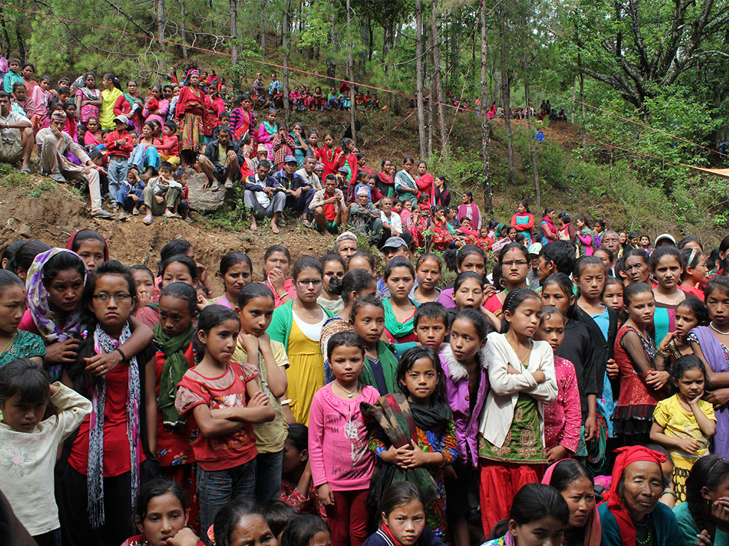 Thanks Giving Event at Likhu, Nuwakot